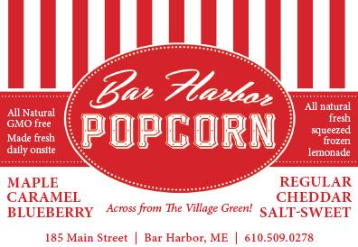 Bar Harbor Maine S Premier Walking Map And Restaurant