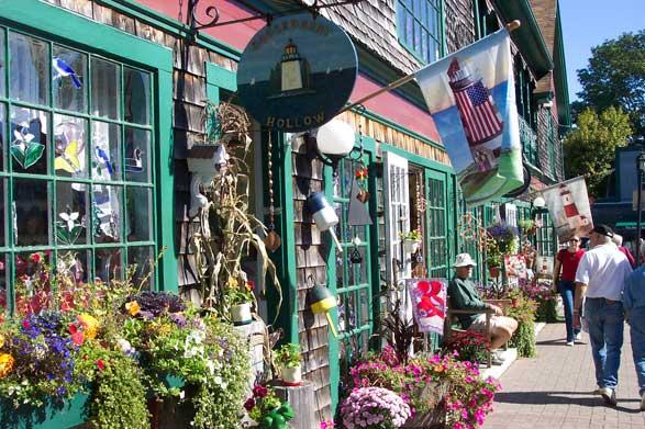 Bar Harbor Maines Premier Walking Map And Restaurant Guide Port